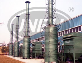 Dry filter material dust collector 3
